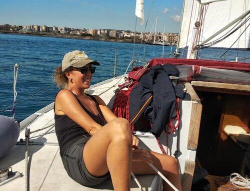 Fine corso di vela per Clara e Matthew!!!